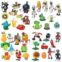 Action-Figure Model-Toys Pvz-Collection Zombies Plants Children for 2-8cm 8-10pcs/Set