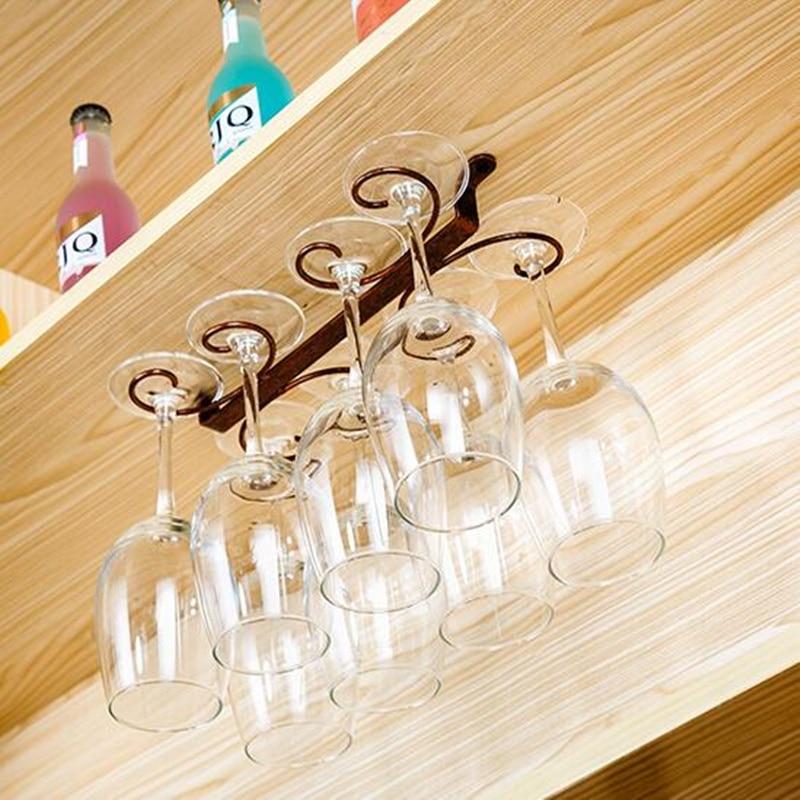 High Quality 4 12 Wine Glass Rack Stemware Hanging Under