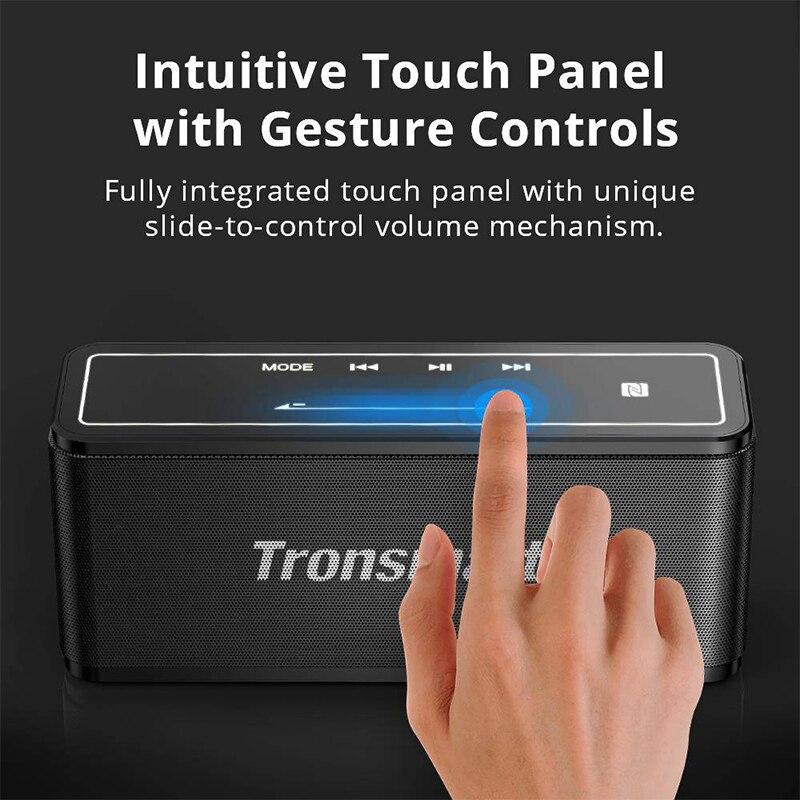 Tronsmart elemento Mega Altavoz Bluetooth altavoz inalámbrico 3D sonido Digital TWS 40 W de potencia de salida NFC 20 m altavoz portátil altavoz MicroSD tarjeta de - 2