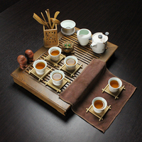 The Real Thing Chicken Wings Wood Tea Tray Draw Out Type Drainage Type Double With The
