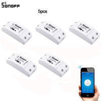 2016 New Sonoff Smart Home Wireless Remote Control Switch Intelligent Timer Switch Diy Switch 220V Control