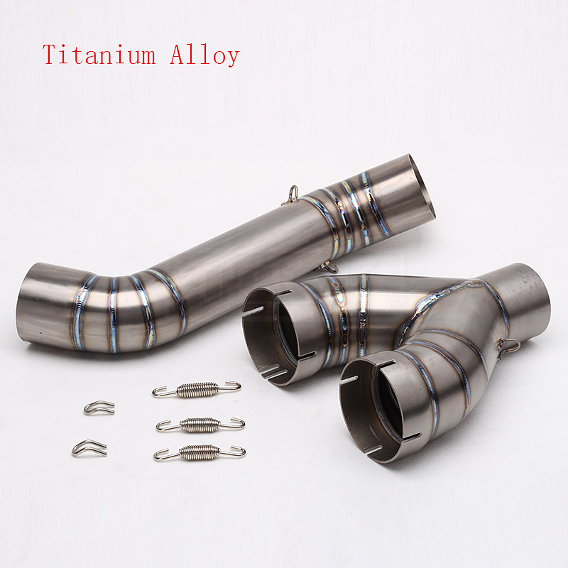 Motorcycle Exhaust Middle Link Pipe Escape Connection Pipe