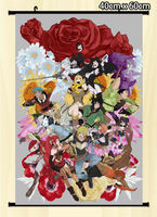 Wall Scroll Poster RWBY home decor Japan Anime 60*80cm