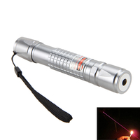 Hot Sale 5mw 650nm Powerful Military Visible Light Beam Red Laser Pointer Pen For Hunting Camping