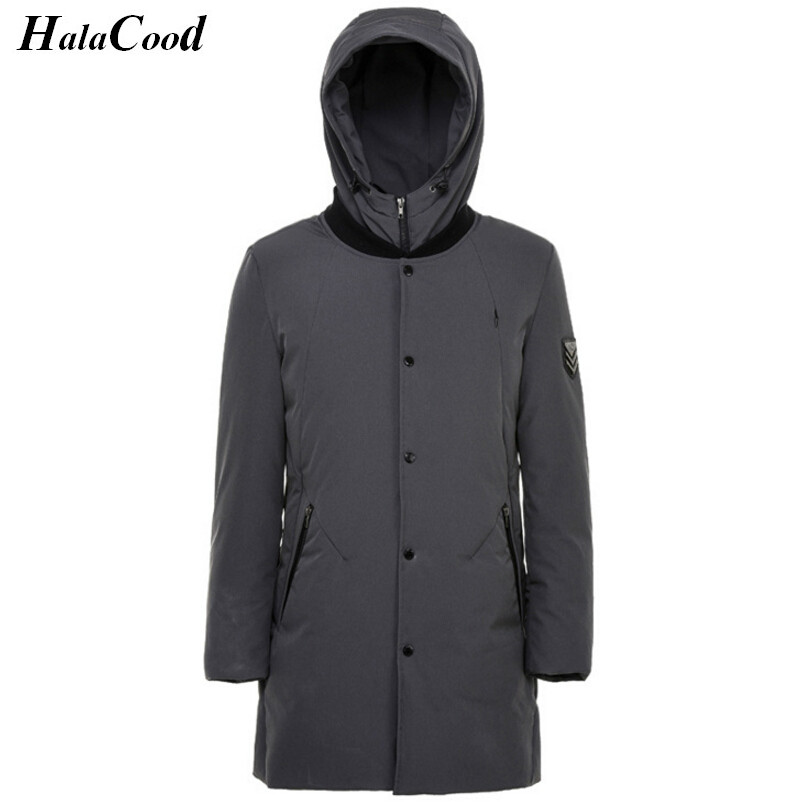 High Qualit Men Parkas Winter Down Coat 90% White Duck Down Jacket Plus Size Winter Brand Down Jackets Men Hooded Outerwear Coat