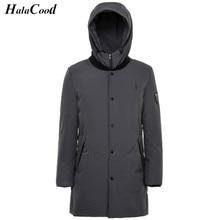 High Qualit Men Parkas Winter Down Coat 90% White Duck Down Jacket Plus Size Winter Brand Down Jackets Men Hooded Outerwear Coat