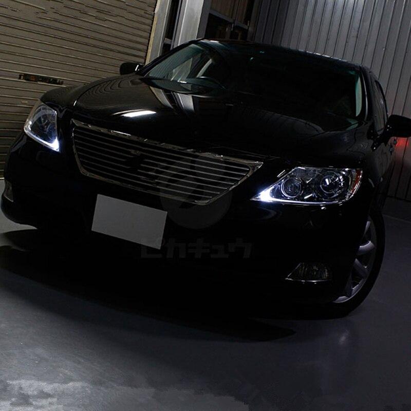 Tcart 1 pces para lexus ls460 2007-2012 carro t10 w5w lâmpada led faróis marcador luzes de advertência