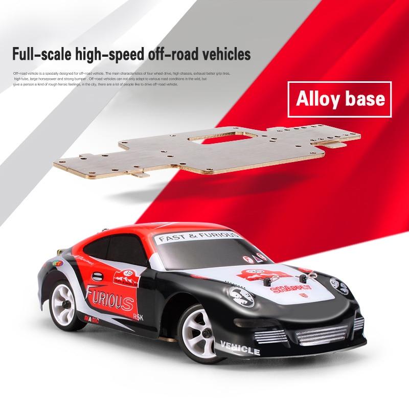 Оригинальный 1:28 RC ралли мини 4WD 4CH внедорожник 2.4 ГГц K969 высокое Скорость Монстр 30 км/ч RC багги рок Rover гоночных автомобилей игрушки