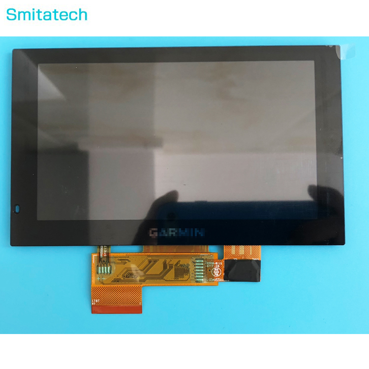 Original 5 inch LCD screen display panel For Garmin DriveSmart 51 With Capacitive Screen digizer