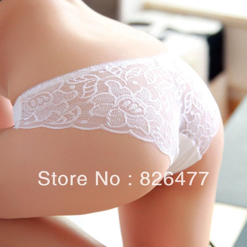 Online Shop Modal sexy Lace Briefs 6 pcs/Lot Plus size women's low ...