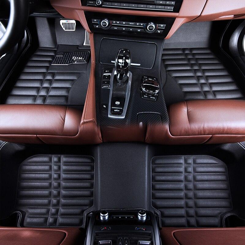 Tapis de sol de voiture tapis tapis tapis de sol pour Lifan X80 DS5 DS5 LS Mini clubman dodge journey 2018 2017 2016 2015 2014 2013
