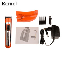 100V-240V Kemei Professional Haircut Hair Styling Tools Wireless Electric Hair Clipper Rechargeable Hair Trimmer Men Child S4950