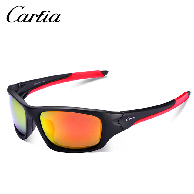 fe956bf369 Carifa 2018 Polarized SunGlasses MTB Mountain Goggles Eyewear Sunglasses  Men Driving Hunting Hiking Sport Sun Glasses CA051