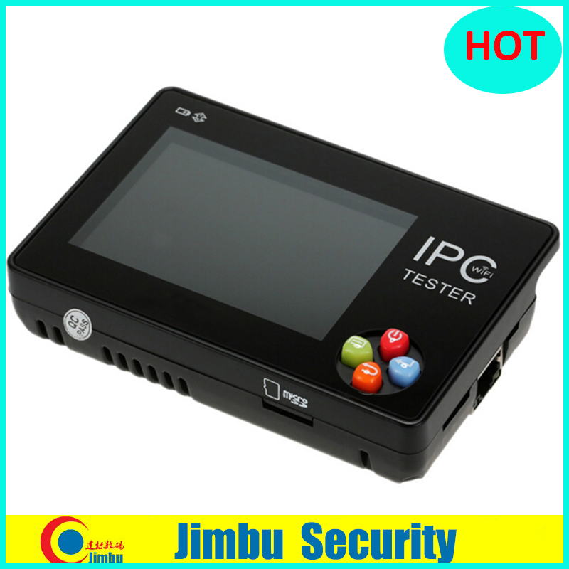 New 3.5 inch IPC-1600 CCTV Onvif EU IP Camera Tester Touch Screen Video Monitor PTZ/WIFI/FTP Server/IP Scan/Port Flashing/DHCP free shipping 3 5 inch touch screen multifunction ip camera cctv tester support onvif with video record wifi ipc 3500