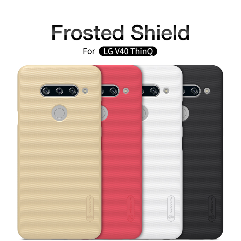 For LG V40 ThinQ case Nillkin Super Frosted Shield Case PC Hard Back Cover Case For LG G8 ThinQ mobile phone bags