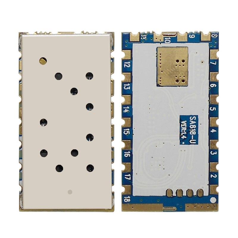 2 шт./лот-новое поколение портативная рация модуль sa818 с UHF 400 ~ 480 мГц/УКВ 134 ~ 174 мГц аудио модуль rda1846s чип
