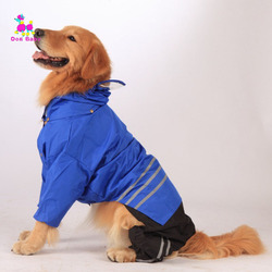 Dogbaby large raincoat dog clothes for big plus dogs outdoor coat waterpoof clothing retriever pet rain.jpg 250x250