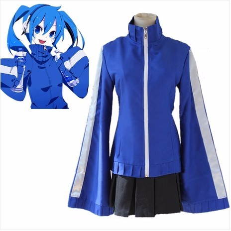 Kagerou Project Heat Haze Ene Takane Enomoto Casual Cosplay Costume Adult Costumes for Women