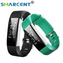Smarcent ID115HR плюс умный браслет спортивные сердечного ритма Смарт Браслет Фитнес трекер умный Браслет Смарт часы для IOS Android