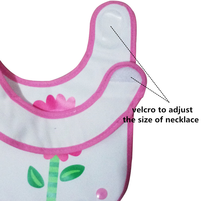 EVA Baby Pocket Slabbetjes Waterdicht Voeden Bib Eat Pocket Speeksel - Babykleding - Foto 4