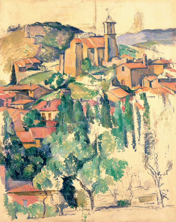 Online buy wholesale cezanne from china cezanne for Buy mural paintings online