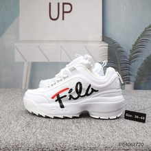 FILA Disruptor II sneakers Signature version Women Sneaker Running Shoes White summer Increased Outdoor Sneaker size 36-44(China)