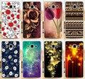 Горячие Продажи Красочный Цветок Розы Баттерли PC Phone Чехол для Samsung Galaxy A3 A3000 A300 A300F Телефон Случаях Охватывает Shell