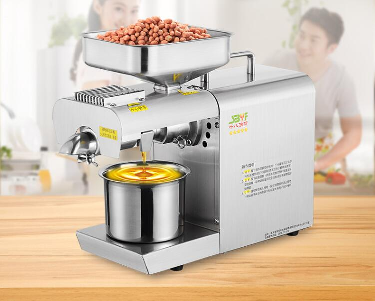 ZYJ-420 presse à huile chaude et froide automatique Machine noix graines presse à huile presse à presser toute l'extraction d'huile élevée d'acier inoxydable
