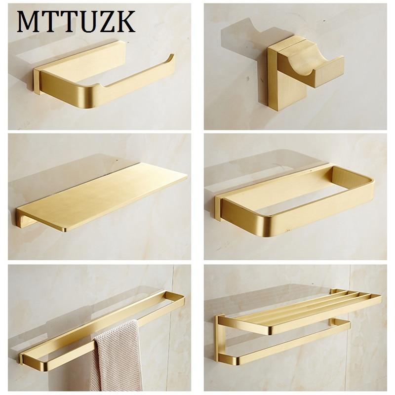 MTTUZK High Quality Bathroom Hardware Set Bathroom