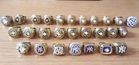 All 27 Pcs New York Yankees World Series Championship Ring Set
