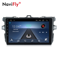 Navifly Android 8,1 Автомобильный мультимедийный плеер для Toyota corolla 2007 2008 2009 2010 2011 Автомобильный gps навигации стерео головное устройство ПК