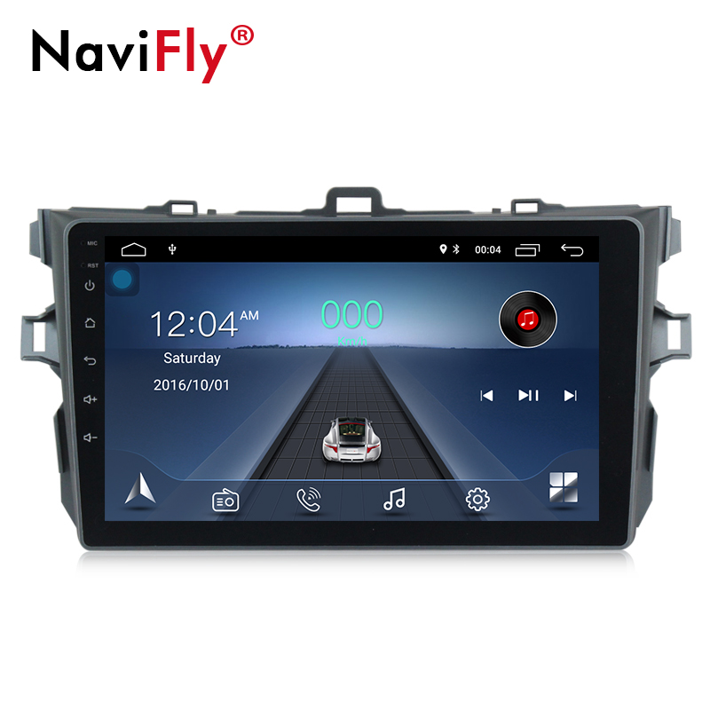 Navifly Android 8.1 car multimedia player for Toyota corolla 2007 2008 2009 2010 2011 car gps navigation stereo head unit PCNavifly Android 8.1 car multimedia player for Toyota corolla 2007 2008 2009 2010 2011 car gps navigation stereo head unit PC