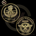 WW2 THE DESERT FOX Deutsche Wehrmacht Germany Field Marshal Commander General Erwin Rommel 1 OZ 24K Gold Plated Coin EAGLE Coin