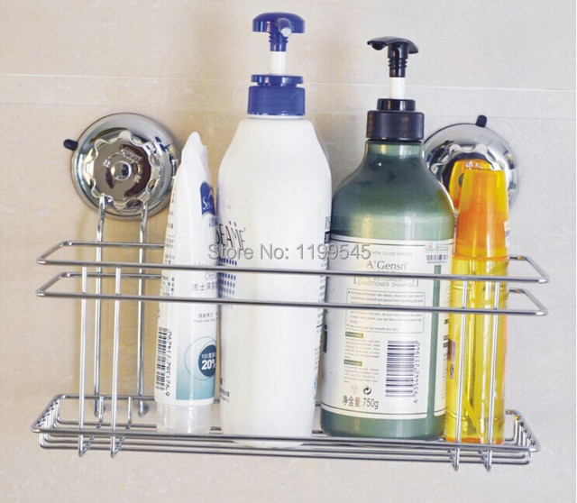 Bathroom Caddy aliexpress : buy super suction cup 304 stainless steel