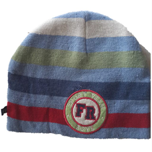 Cartoon Computer embroidery thick wool Wind Hats sports team Knitting Caps  Winter Soft Warm Ear protection Fleece Lining Beanies e7c6c089ad6