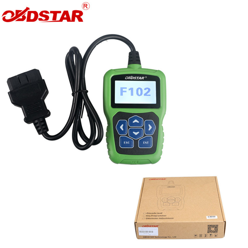 OBDSTAR F102 For Nissan/Infiniti Automatic Pin Code Reader with Immobiliser and Odometer Function encrypted communication algorithm in engine immobiliser