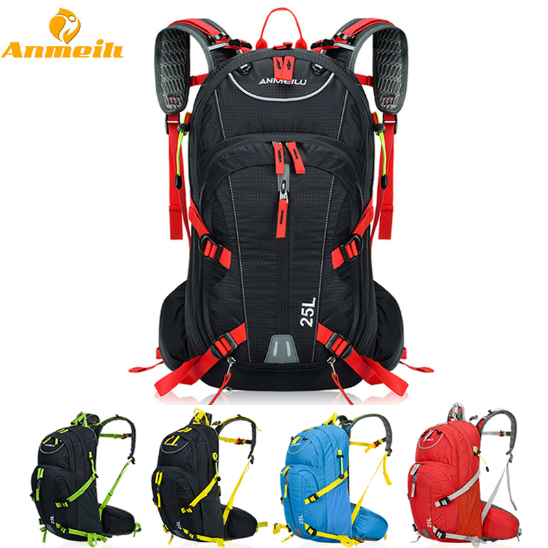 ANMEILU Outdoor Sport Bag Waterproof Mountain Climbing Camping Travel Rucksack Hiking Bicycle Cycling Backpack For Women Men blog flashlight outdoor 5led pocket strong waterproof 8 hours to illuminate mountain climbing camping p004