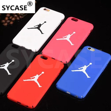 SYCASE Basketball Jordan Case For iphone 7 6 6S Plus 5S SE Matte Hard Plastic Phone Cases for iPhone 8 6 6s 7 Plus Back Cover