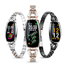 2019 Update Versi Smart Gelang Watch Fashion Heart Rate Tekanan Darah Watch Pedometer Tahan Air Kebugaran Gelang untuk Wanita(China)