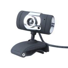 USB 2,0 50,0 M HD веб-камера Веб-камера с микрофоном Микрофон для компьютера ПК ноутбук черный