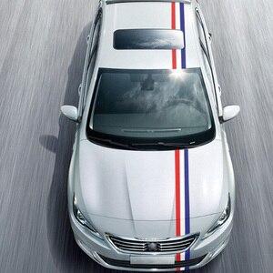 Image 4 - Автомобильная наклейка из ПВХ, 1 рулон, наклейка из ПВХ для всего кузова, декор огнем, виниловые наклейки, Франция, Германия, итальянский флаг для BMW, M Color