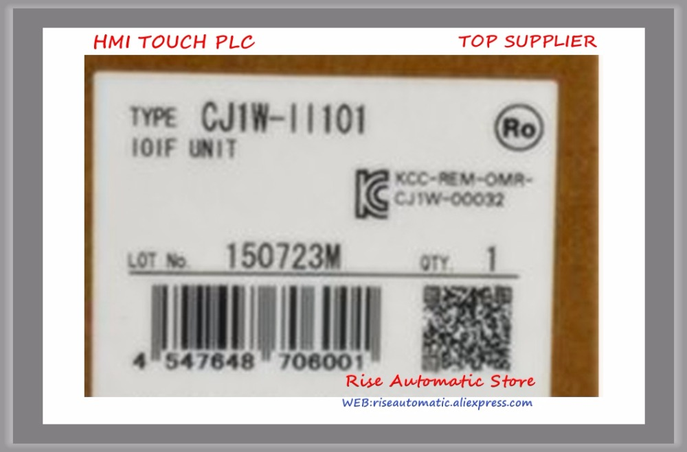 лучшая цена New Original PLC Programmable Logic Controller CJ1W-II101 I/O interface unit