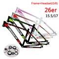 Алюминиевая рама для горного велосипеда JESSICA 26er 15 5