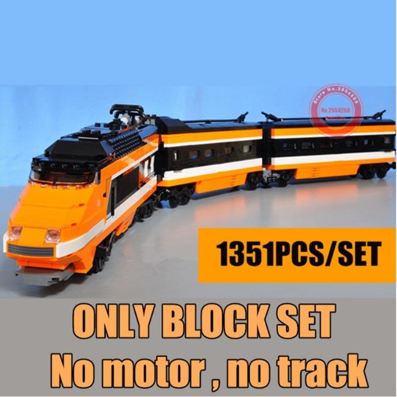 Nouveau Horizon Express modèle kit de construction concepteurs assembler des briques compatible 10233 enfants anniversaire jouet chevaux cadeaux