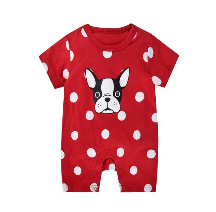 2019 Brand New Newborn Toddler Infant Baby Boys Girl Casual   Romper   Jumpsuit Cotton Short Sleeve Clothes Summer Sunsuit Outfits
