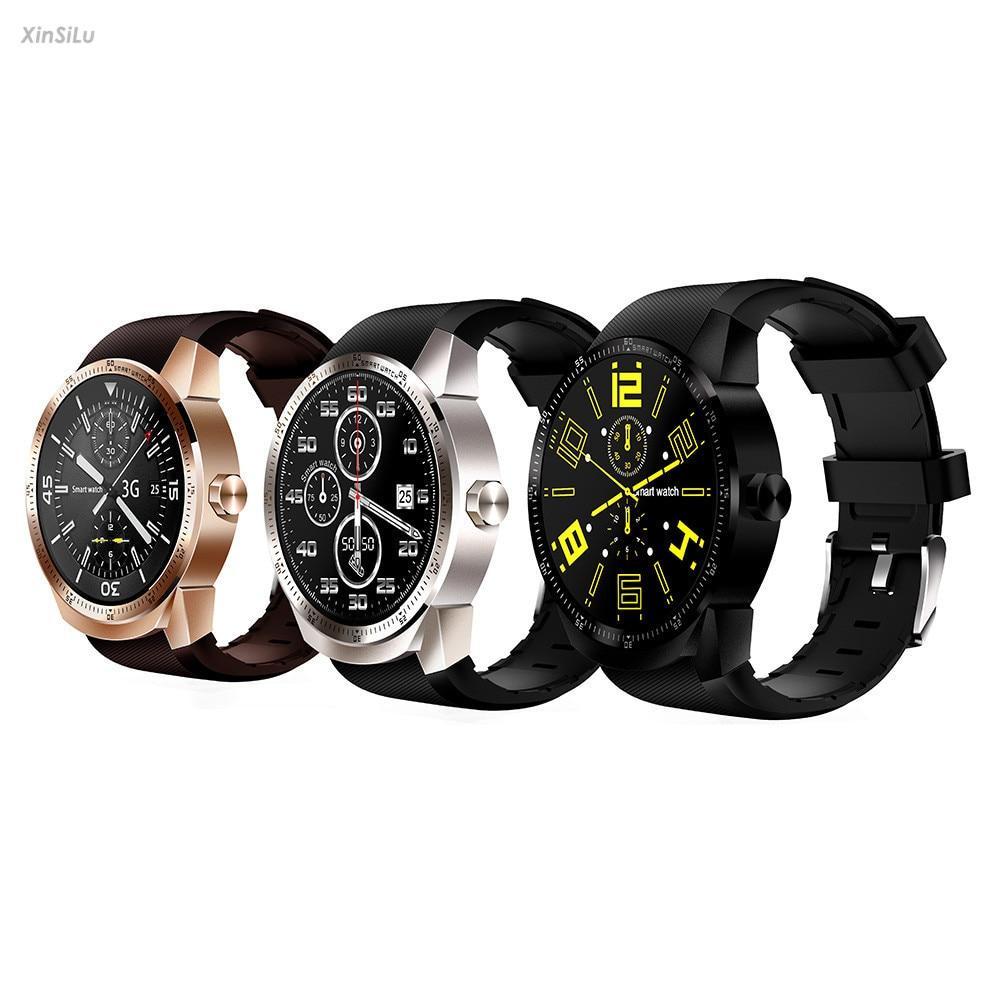IPS Screen 1.3 inch Bluetooth 3G Android Smart Watch SIM Phone GPS 4GB Dual Core XinSiLu