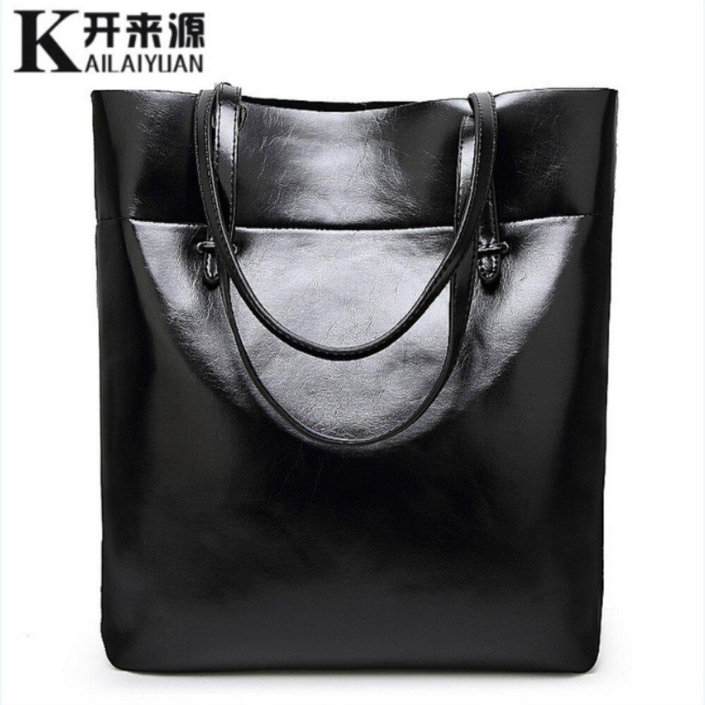 KLY 100% Véritable cuir Femmes sacs à main 2018 Nouveau Simple d'épaule de mode diagonale sac à main occasionnel Épaule Messenger Sac À Main