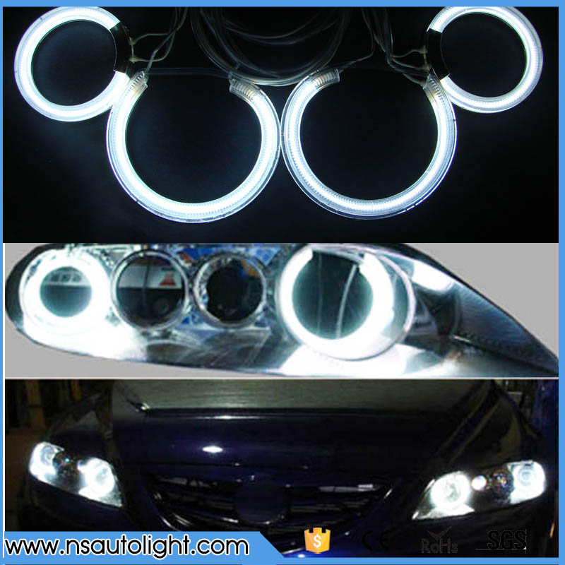 Multicolor CCFL angel eyes for Mazda 6 one set 4rings 2 inverters car head lamps 8000K high brightness with 7 colors available free shipping 10pcs lot stm6930a sop8 offen use laptop p 100% new original