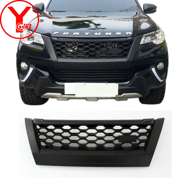 toyota yaris 2017 trd parts new ertiga vs grand veloz grille cover for fortuner an160 hilux sw4 2015 2016 2018 accessories car abs racing grill ycsunz