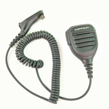 oppxun Handheld Speaker Mic for Motorola Radio XPR6550/6500 XIRP8268 DP3400 Walkie Talkie Black